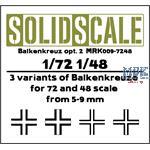 Balkenkreuz Option 2      1/48 / 1/72