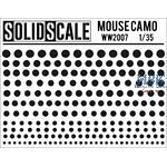 Mouse Camo  Maskierschablone