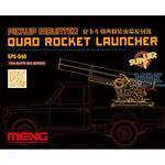 Pickup Mounted Quad Rocket Launcher