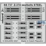 Let Z-37A seatbelts STEEL 1/72