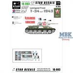 T-34 model/1943 1:16