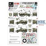 US M2 and M2A1 Halftracks - 12th Arm Div