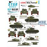 USMC M46 Patton - Korean War 1950-53.