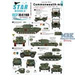 Commonwealth mix - Korean War 1950-53.
