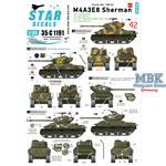 Korean War 1950-53. M4A3E8 Sherman # 3.