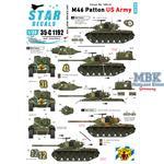 Korean War 1950-53. US Army M46 Patton.