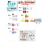 Oil Drum markings / Ölfassbeschriftungen