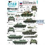 Slovenija #1. TO, 1991 Ten-Day-War
