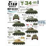 T-34-85 Medium Tank.
