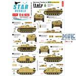 German tanks in Italy # 6. Sturmgeschütze