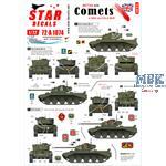 British A34 Comet in WW2 + Cold War Service