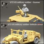 US Military soldiers - (2 figures)