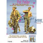 British SAS Crew  Land Rover  Pink Panther