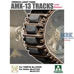 AMX-13 Tracks with rubber