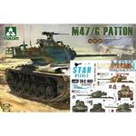 Special: M-47 Patton inkl. Star Decals: NATO South
