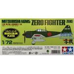 Mitsubishi A6M5 Zero (Zeke) Silber   1/72