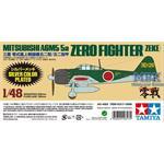 Mitsubishi A6M5 Zero (Zeke) Silber   1/48