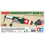 Messerschmitt BF109 E-9 Schweiz 1/48  LIMITIERT
