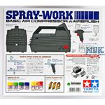 Tamiya Spray Work Basic mit Kompressor