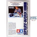 Tamiya Spray Work Basic mit Kompressor