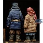 Boy & Girl (eastern Europe) WWII Period