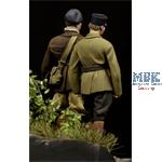 French Tank Crewman & NCO WWII