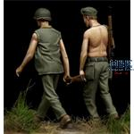 US Marine Corps Soldiers  WWII