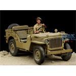 British Driver Western Desert WWII