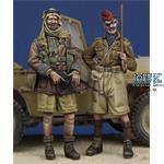LRDG Trooper & Hussar Officer WWII