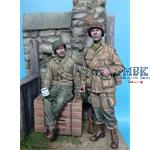 US Paratrooper & Infantry Soldier WWUU Normandy 44