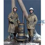 US MP & GI Ardennes 1944 w/stove