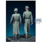 Otto Skorzeny & Waffen SS Officer WWII