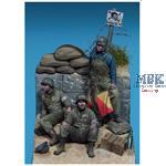 US Navy Corpsmen & Signalman Utah Beach Normandy