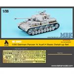 Panzer IV Ausf.H (Academy) Basic Detail up Set