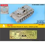German Panzer III Aust.J Detail-up Set