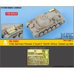 German Panzer II Aust.F North Africa Detail-up Set