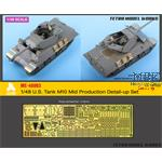 US Tank M10 Mid Production Detail-up Set