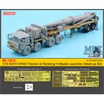 M1001 Tractor & Pershing II  Detail up set