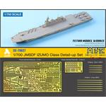 JMSDF IZUMO Class Detail-up Set (Tamiya)