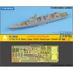 PLA Navy Type 052D Destroyer Detail-up Set