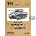 U.S. WW II M10 and M10A1 Tank Destroyers