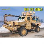 RG-31 Mk 5 US mittleres Minengeschützes Fahrzeug