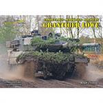 Grantiger Löwe Bundeswehr Fahrzeuge auf Manöver