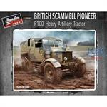 British Scammell Pioneer R100 heavy artillery tra.