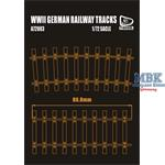 German Railway Tracks - 35cm long
