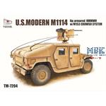 M1114  Up-Armored with M153 Crows II system