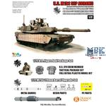 US M1A2 Abrams  SEP SEP TUSK I MBT + Extra parts