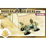 Modern U.S. Soldiers (19 Figures Set)