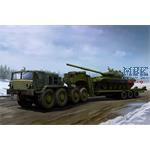 MAZ-537G Late Production with semi-trailer
