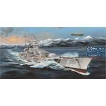 German Battleship Scharnhorst  (1:200)